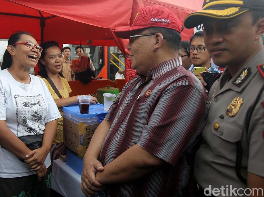 Ombudsman Cek Hasil Penataan Tanah Abang