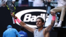 Rafael Nadal Belum Terbendung di Australia Terbuka