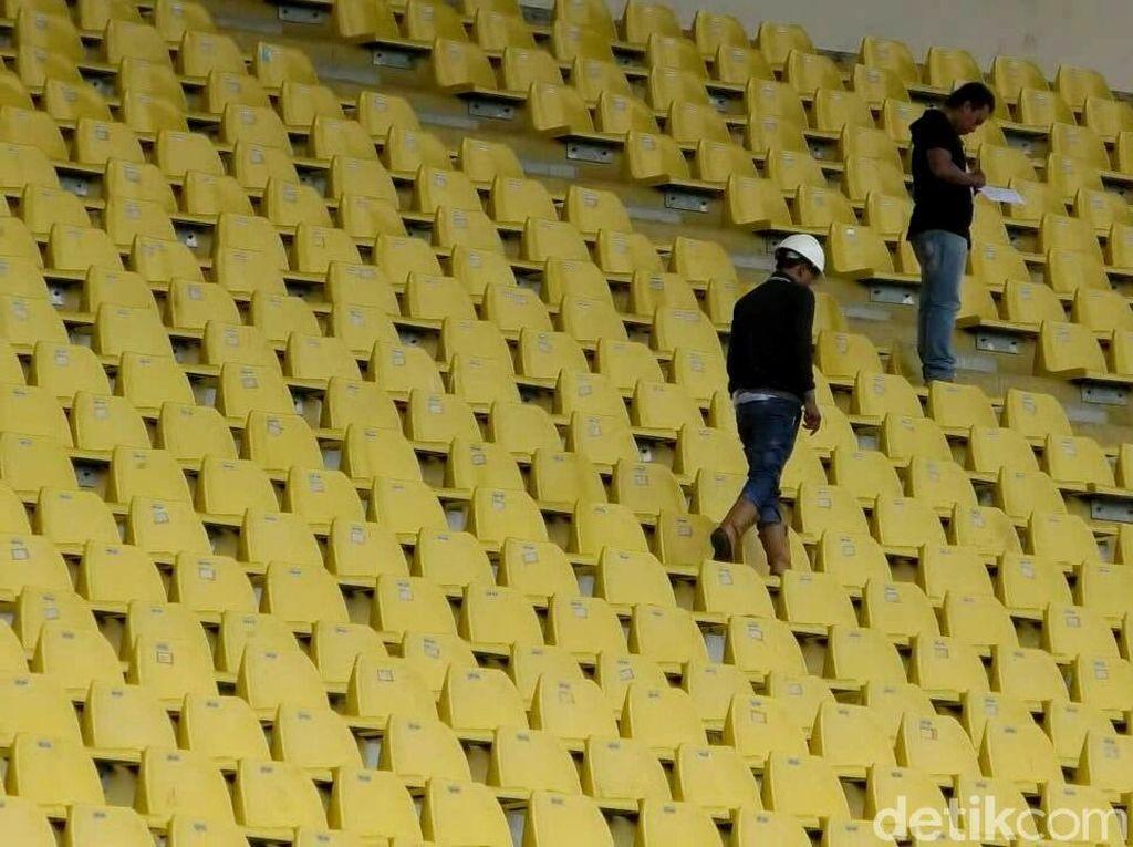 Renovasi Stadion Si Jalak Harupat Jelang Asian Games 2018