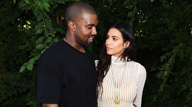 Kim Kardashian dan Kanye West Nantikan Anak Keempat