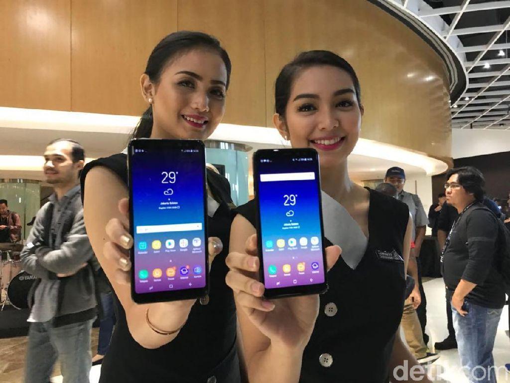 Penampakan Menggoda Duo Samsung Galaxy A8
