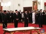 Presiden Lantik Anggota Kabinet Kerja Baru
