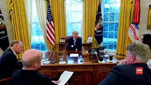 VIDEO: Trump Tuding Rusia Bantu Korut
