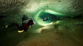 Gua Bawah Laut Terbesar di Dunia Ditemukan di Meksiko
