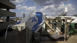 FOTO: Mencari Kebebasan di Puncak Gedung Tel Aviv