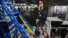 FOTO: Menjelajah Imaji Dunia LEGO di Polandia