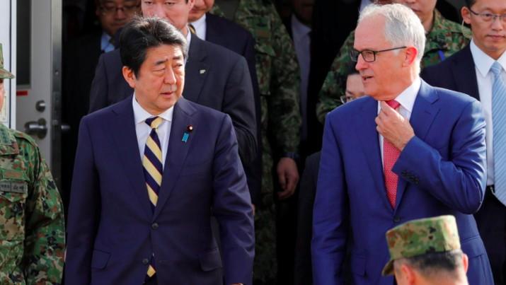 Langkah tersebut adalah bagian dari upaya AS dan sekutunya untuk kembali menegaskan pengaruhnya di kawasan Pasifik.