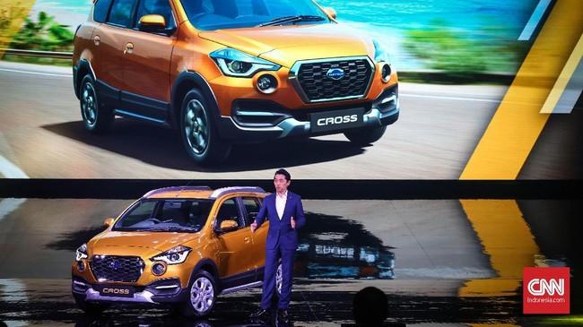 Datsun menjadikan Indonesia sebagai debut global perdana produk terbarunya, Cross yang resmi diboyong pada Kamis (18/1). (dok. CNNIndonesia/Safir Makki)