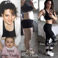 Wanita berusia 43 tahun itu mengaku ingin hidup sehat setelah melahirkan anaknya yang ke-7 di tahun 2013. Namun ia baru sempat memulai latihan sepenuhnya pada bulan Februari 2017. (Foto: Instagram/jessicaenslow)
