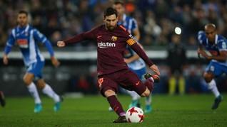 Valverde: Penalti Messi Bisa Buat Barcelona Menang