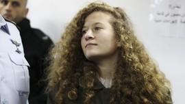 Tampar Tentara Israel, Ahed Tamimi Dipenjara Delapan Bulan