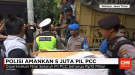Polisi Sita 5 Juta Pil PCC dalam Penggerebekan di Sidoarjo