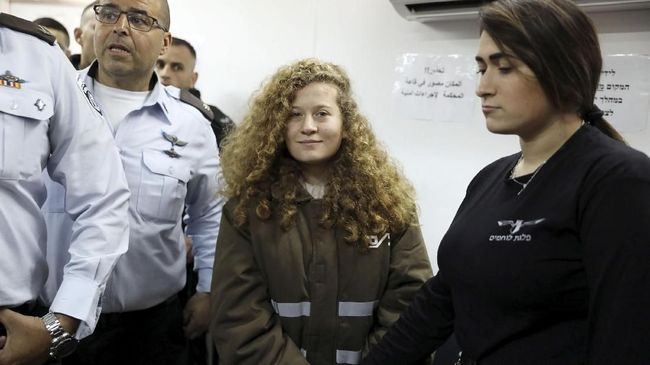 Israel Tolak Pembebasan Remaja Palestina Ahed Tamimi