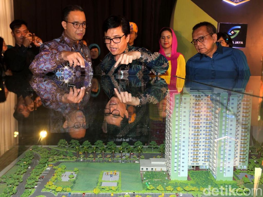 Rumah ini ditujukan untuk masyarakat berpenghasilan rendah yang gajinya tak lebih dari Rp 7 juta.