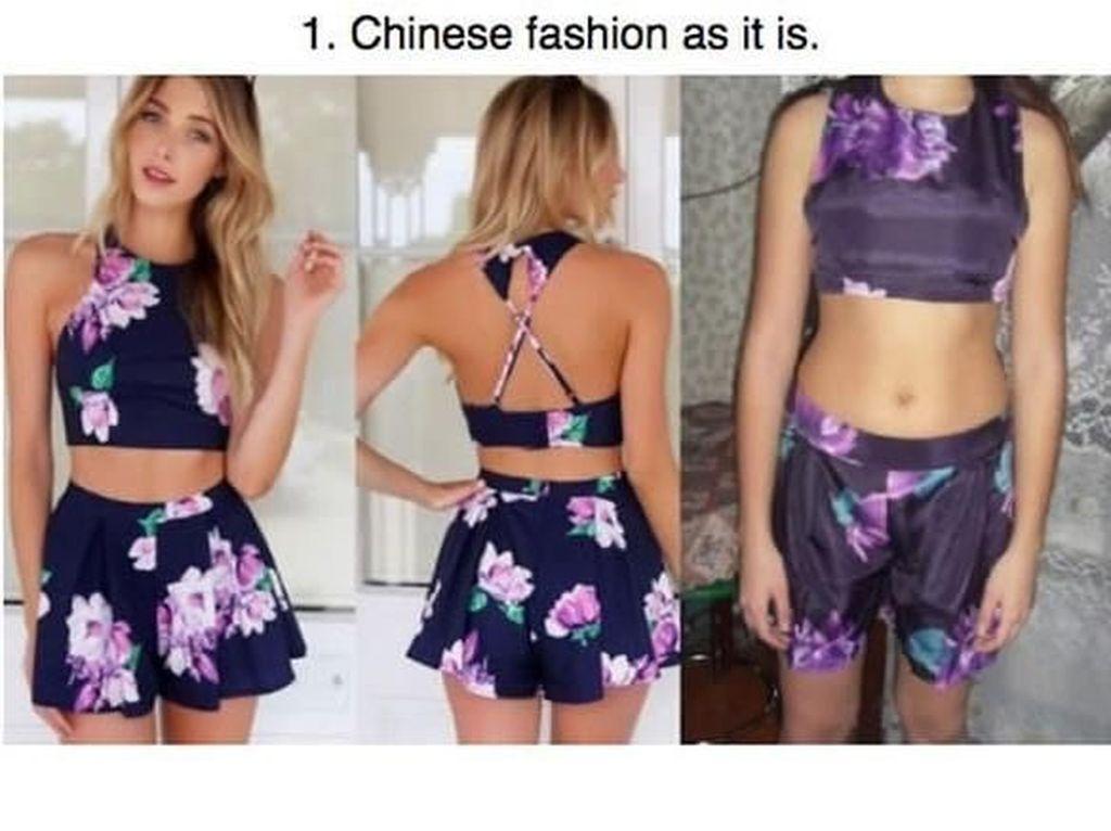 Foto: 15 Bukti Belanja Baju Online Tak Selalu Berujung Bahagia