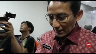 VIDEO: Momen Saat Sandiaga Jewer Ajudannya