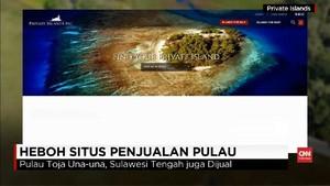 VIDEO: Heboh Situs Penjualan Pulau di Indonesia