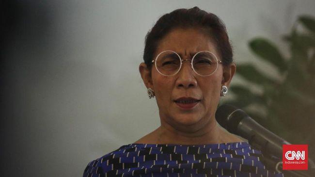 Jokowi Sindir Menteri Susi Ingin Jadi Cawapres