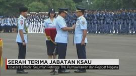 Marsekal TNI Yuyu Sutisna Resmi Jabat KASAU