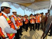 Tiga Menteri Tinjau Proyek Tol Medan-Kualanamu-Tebing Tinggi