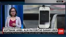 Softbank Ambil Alih Mayoritas Saham Uber