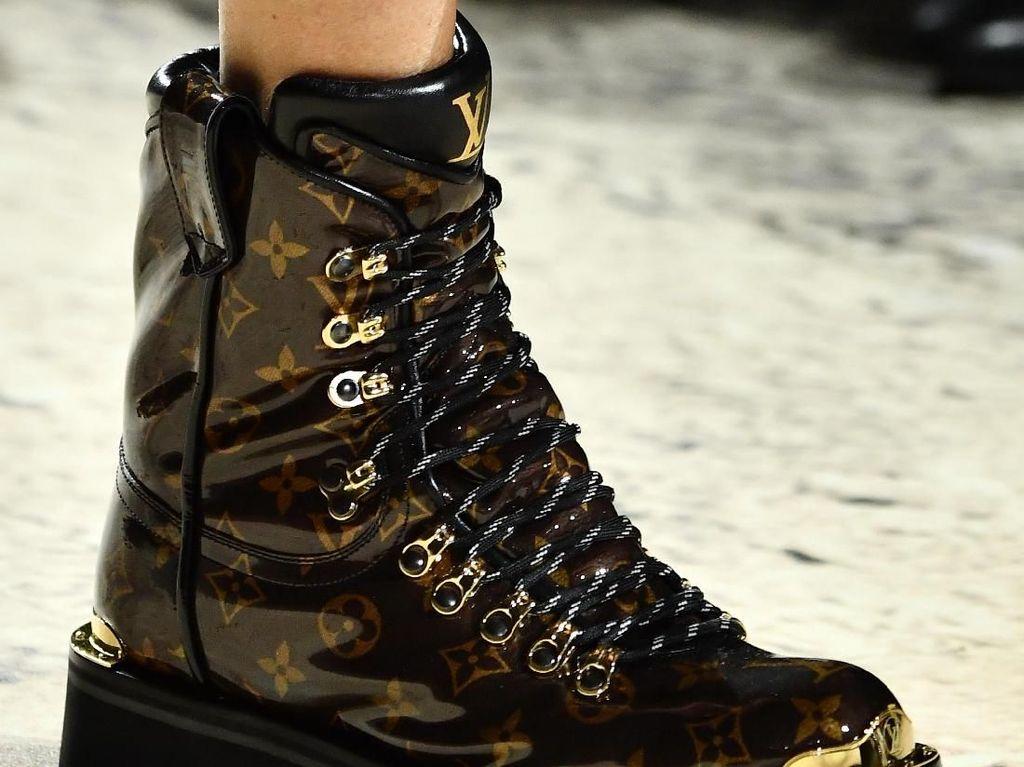 Foto: Terbaru, Boots Modis untuk Hiking dari Louis Vuitton