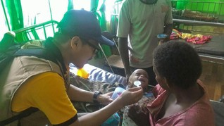Cerita Dokter Anak Tangani Campak dan Gizi Buruk di Asmat