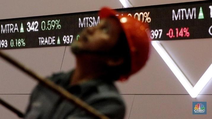 Di saat IHSG melejit 0,94% (per akhir sesi 1), investor asing justru membukukan jual bersih senilai Rp 414,1 miliar.