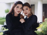 Foto: Cantiknya Ashanty & Aurel Hermansyah Pakai Lipstik Kembaran