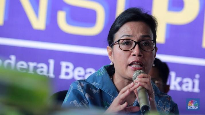 Menteri Keuangan RI Sri Mulyani Indrawati menegaskan pemerintah tidak boleh meremehkan dampak perlambatan ekonomi global.