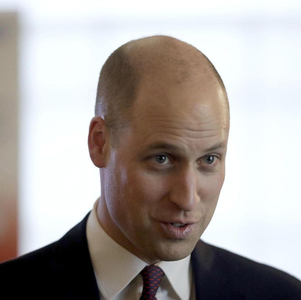Menengok Potongan Rambut Baru Pangeran William dan Bakat Botak di Keluarganya