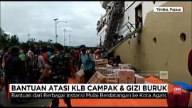 VIDEO: Bantuan dan Tenaga Medis Mulai Berdatangan ke Asmat