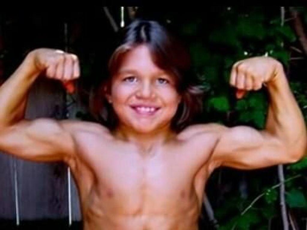 Ingat Hercules Kecil, Richard Sandrak? Kini Tubuhnya Tak Seperti Dulu