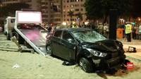 VIDEO: Mobil Terobos Trotoar di Brasil Tewaskan Seorang Bayi