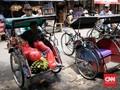 Legalkan Becak, Pemprov DKI Revisi Perda Ketertiban Umum