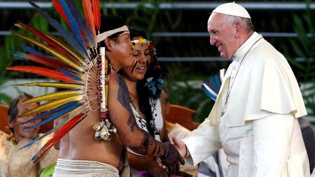 Paus Fransiskus: Lindungi Alam dari Bisnis yang Serakah