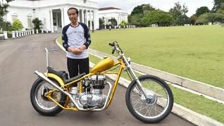Presiden Jokowi Beli Motor Custom dengan Surat-surat Lengkap