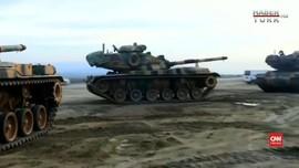 VIDEO: Turki Tembakkan 70 Peluru Meriam ke Arah Suriah