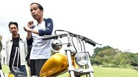 Jokowi Bercanda Ingin Tampil di MotoGP