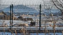FOTO: China Perketat Pengawasan Daerah Perbatasan Korea Utara