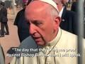 VIDEO: Paus Fransiskus Sebut Skandal Uskup Barros Fitnah