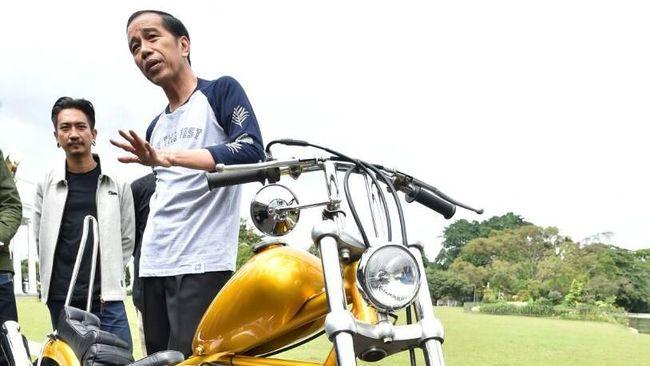 Spesifikasi Motor Custom Jokowi Yang Pernah Injak Jepang