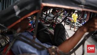Tak Ingin Anies Nyapres, Tukang Becak akan Datangi Balai Kota