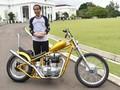 Beli Motor Modifikasi, Jokowi Pacu Anak Muda Berkarya