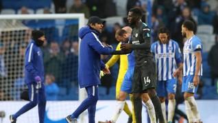 Chelsea Menang 4-0 atas Brighton, Conte Sempat Cemas