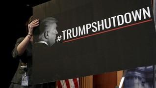 FOTO: Suasana Hari Pertama Penutupan Pemerintahan AS