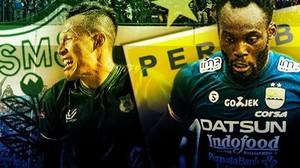 Duel Klasik Persib vs PSMS