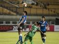 PSMS Medan Unggul 2-0 Atas Persib di Babak Pertama
