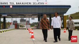 Jokowi Ingin Tarif Tol Turun untuk Kendaraan Logistik Saja