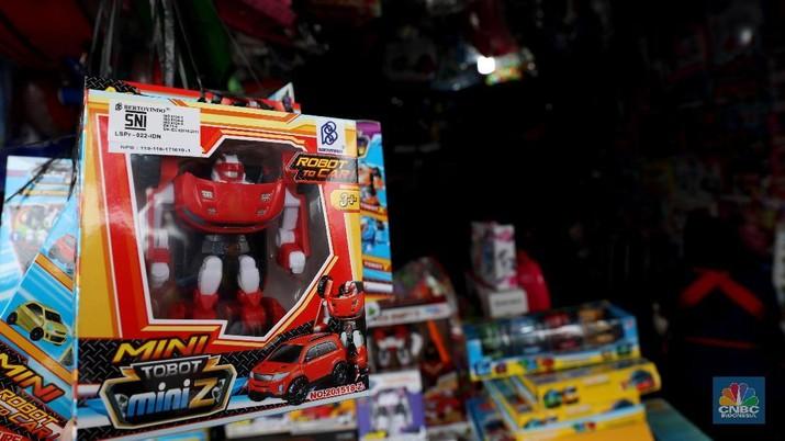 Aturan Mainan Impor Tanpa Label SNI